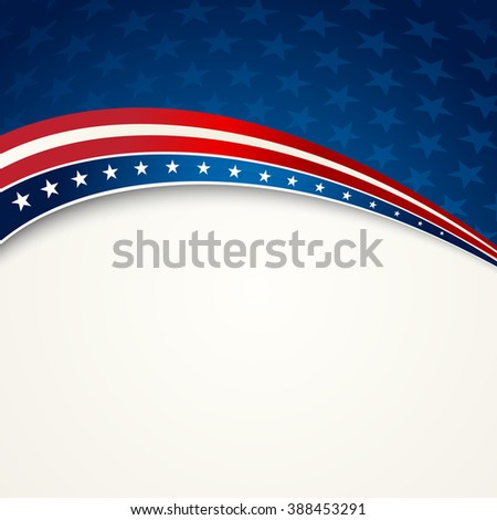 American Flag, patriotic background for Independence Day, Memorial Day