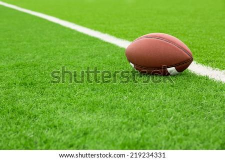American football - stock photo