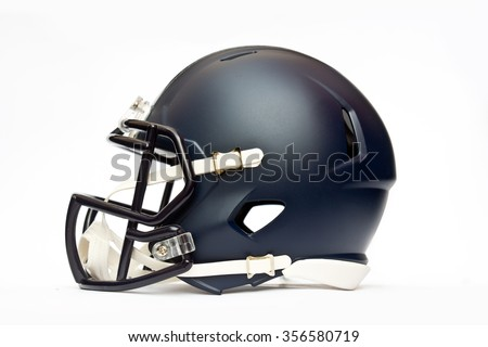 american football helmet isolated on white background