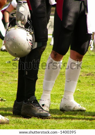 American football players detail
