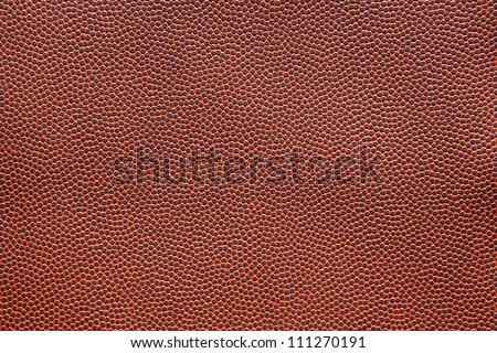 American Football Texture for sports background high resolution - stock photo