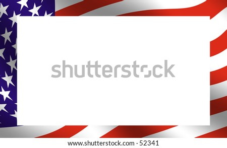American Frame - stock photo