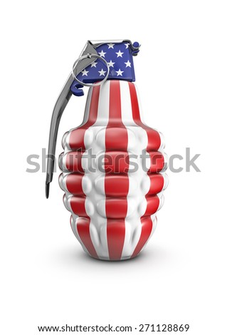 American grenade - stock photo