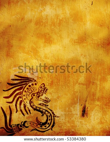 American Indian national patterns - stock photo