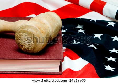 American Justice - stock photo