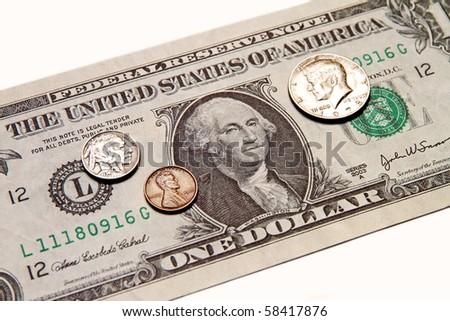 american money - stock photo