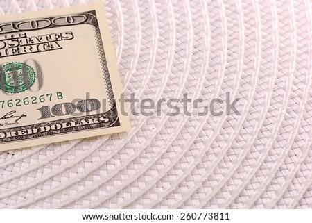american money dollars - stock photo