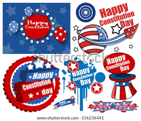 American Style Constitution Day Design