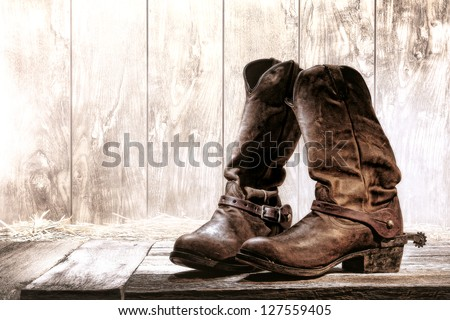 Cowboy Boots Stock Images, Royalty-Free Images & Vectors ...