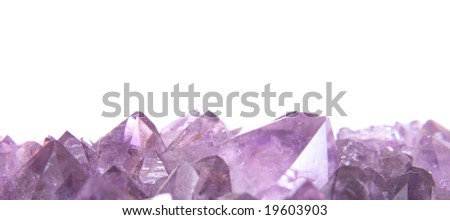 amethyst background - stock photo