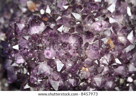 Amethyst carpet