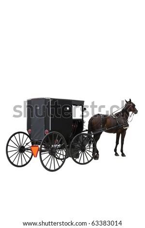 Amish - stock photo