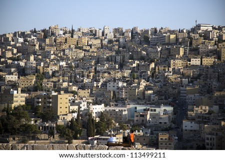 Amman,Jordan - stock photo