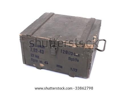 ammo case - stock photo