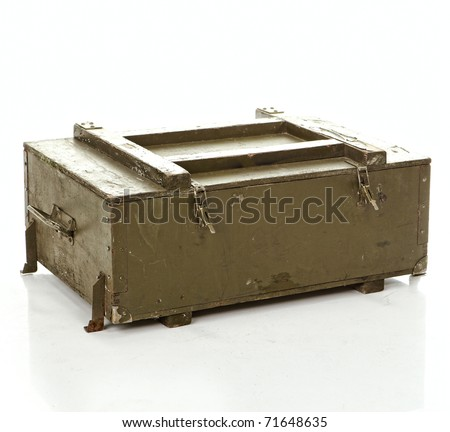ammo case - stock photo