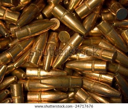 Ammunition background - stock photo