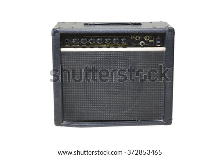 amp isolate white background