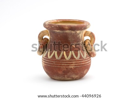 amphora - stock photo