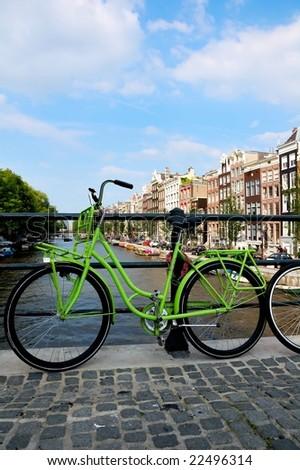 Amsterdam Bike - stock photo