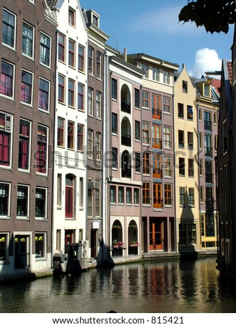 Amsterdam Canals - stock photo