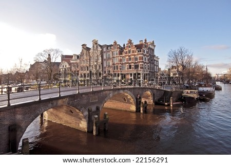 Amsterdam city in the Netherlands