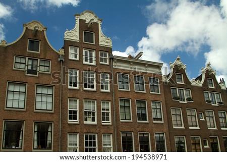Amsterdam in summer - stock photo