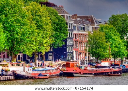 Amsterdam, Netherland - stock photo