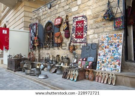 Amtique Market - stock photo