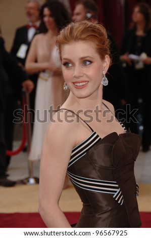 AMY ADAMS at the 78th Annual Academy Awards at the Kodak Theatre in Hollywood. March 5, 2006  Los Angeles, CA  2006 Paul Smith / Featureflash - stock photo
