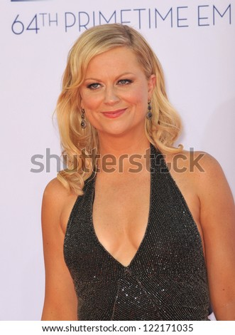 Amy Poehler at the 64th Primetime Emmy Awards at the Nokia Theatre LA Live. September 23, 2012  Los Angeles, CA Picture: Paul Smith