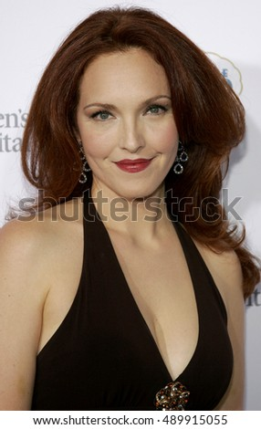 Amy Yasbeck at the 'Runway For Life' Benefiting St. Jude Children's Research Hospital held at the  Beverly Hilton in Beverly Hills, USA on September 15, 2006.