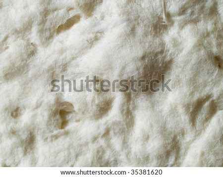 An abstract background of paper pulp close-up. - stock photo