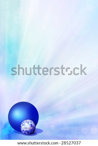 An abstract background with balls  is very air and as though locomotive. Much place is for inscriptions - stock photo