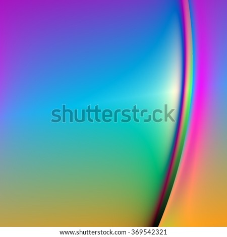 An abstract background with rainbow colors and lines