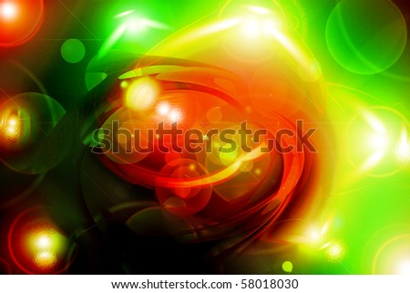 an abstract degraded background of different colors - stock photo