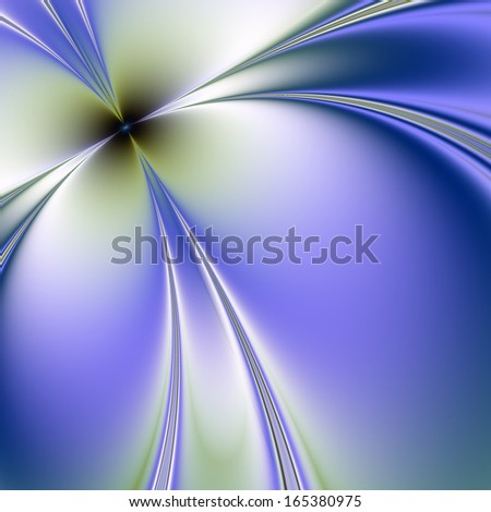 An abstract fractal image - stock photo