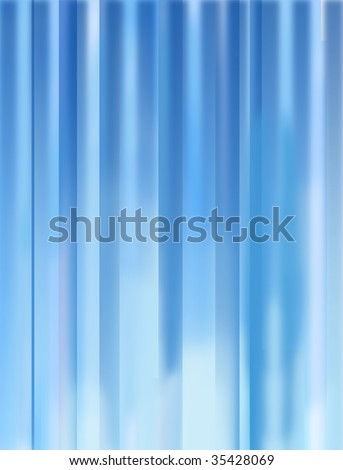 An abstract, generic, light filled blue background - stock photo