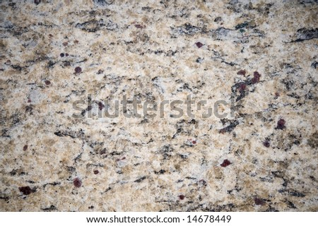 An abstract image of natural looking granite - stock photo