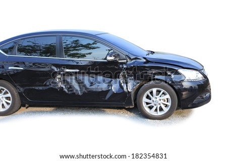 Damaged Car Stock Images Royalty Free Images Vectors Shutterstock