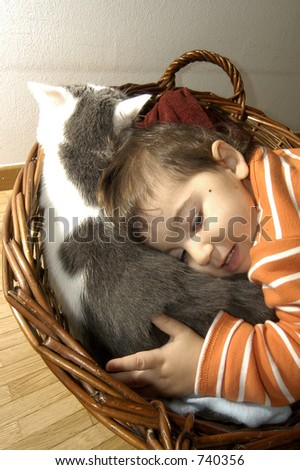 an adorable cuople - stock photo