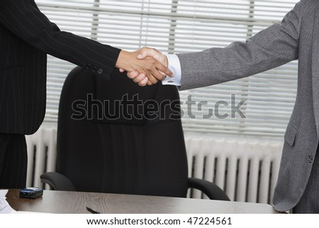 An agreement between two business executives.