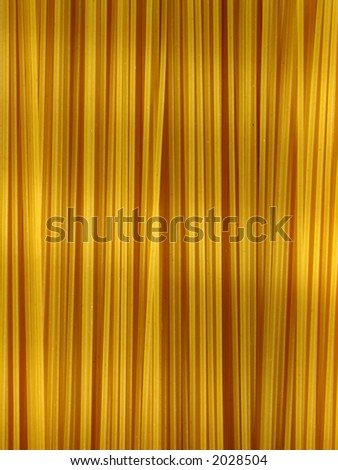 An array of spaghetti makes an excellent background.