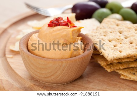 An Assortment of Appetizers - stock photo