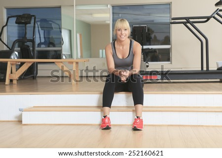 an athlete on sit on a gym