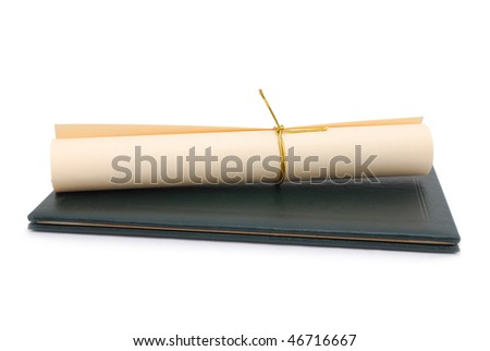 an diploma education - stock photo