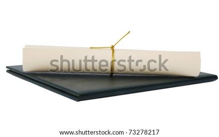 An graduation concept - stock photo