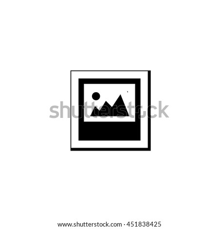An Icon Illustration Isolated on a Background - Photograph - stock photo