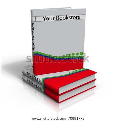 an illustration of book - stock photo