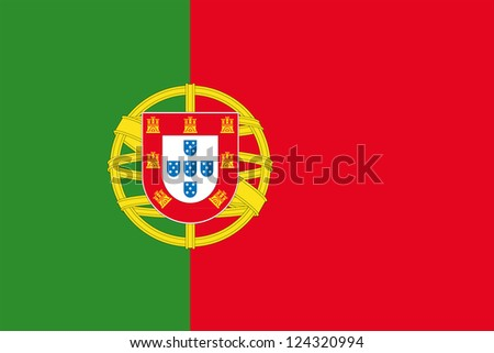 An illustration of the flag of Portugal