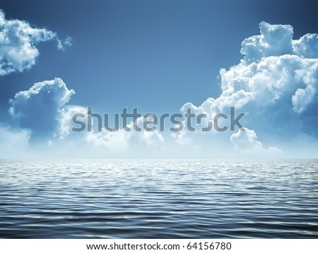 An image of a beautiful water background - stock photo